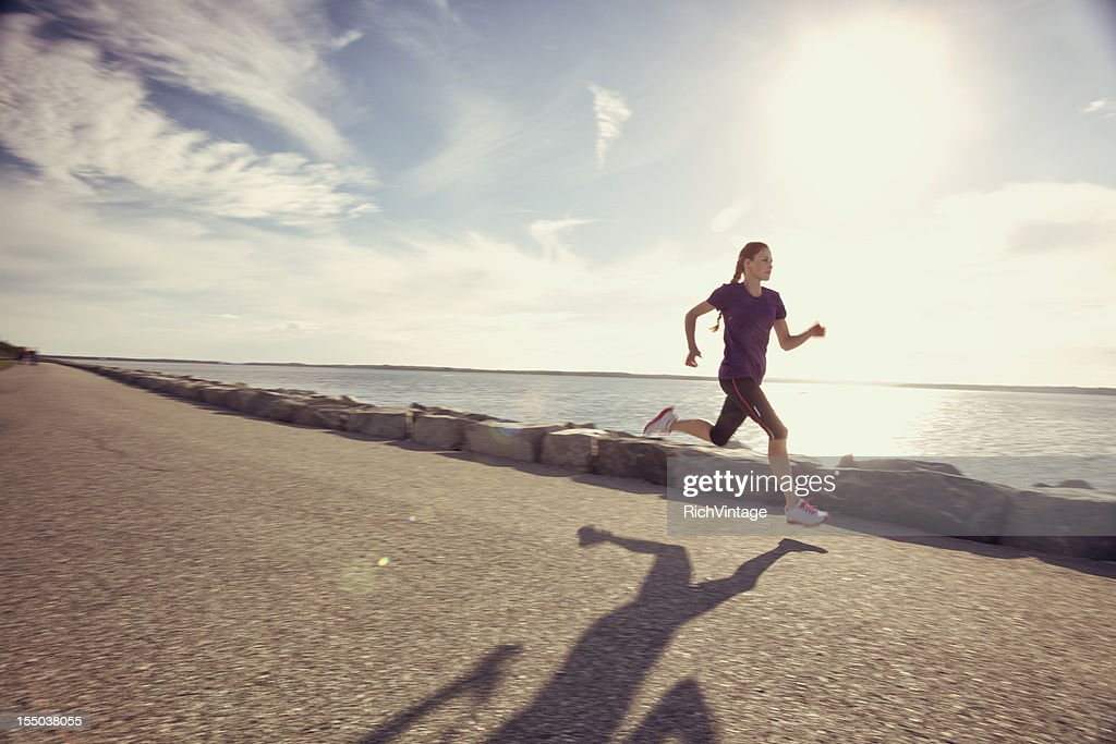 Seaside Run : Stock Photo