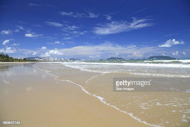 seaside scenery,sanya,hainan - sanya stock pictures, royalty-free photos & images