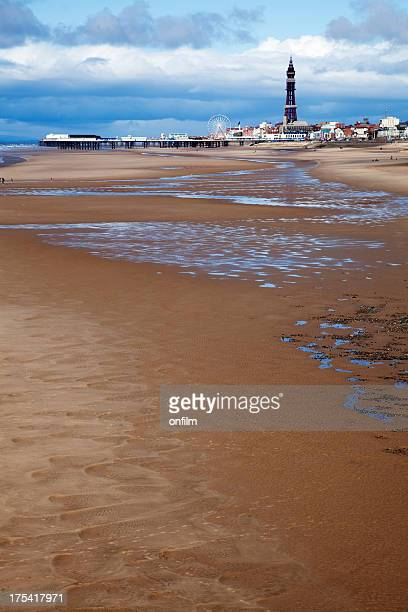 Seaside, the classic view of Blackpool