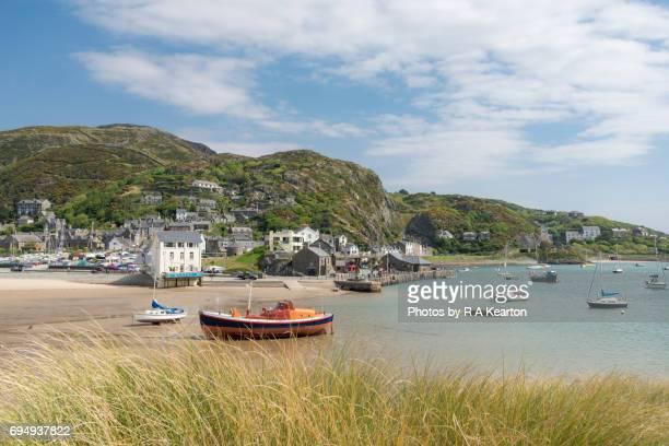 Seaside town of Barmouth, Gwynedd, Wales