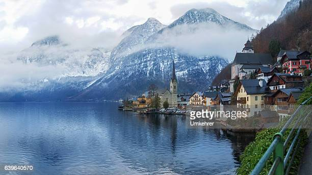 Seaside view from Hallstatt Austria