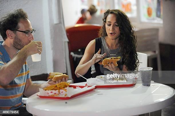 GIRLS 'Season 1 Episodic' Pictured Ester's date Ari Ester Steinberg
