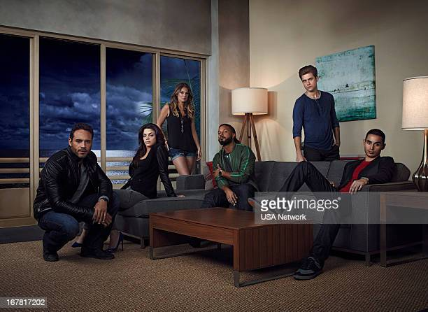 1 Pictured Aaron Tveit as Mike Warren Vanessa Ferlito as Charlie Lopez Serinda Swan as Paige Arkin Brandon Jay McLaren as Dale Jakes Daniel Sunjata...
