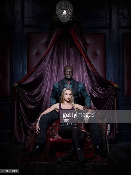 1 Pictured Arielle Kebbel as Olivia Peter Mensah as Lemuel