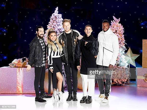 1 Pictured Avi Kaplan Kirstin Maldonado Scott Hoying Mitch Grassi Kevin 'KO' Olusola