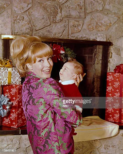 Barbara Eden with son Matthew Michael Ansara