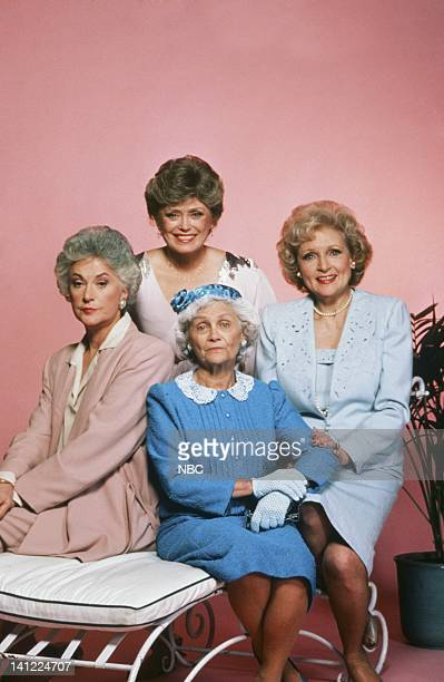 Bea Arthur as Dorothy Petrillo Zbornak Rue McClanahan as Blanche Devereaux Estelle Getty as Sophia Petrillo Betty White as Rose Nylund Photo by Herb...