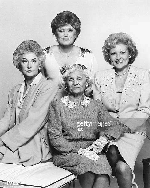 Bea Arthur as Dorothy PetrilloZbornak Rue McClanahan as Blanch Devereaux Betty White as Rose Nylund Estelle Getty as Sophia Petrillo Photo by Herb...