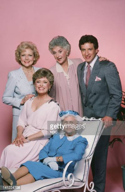 Season 1 -- Pictured: Betty White as Rose Nylund, Rue McClanahan as Blanche Devereaux, Bea Arthur as Dorothy Petrillo Zbornak, Estelle Getty as...