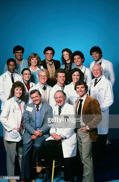 Season 1 -- Pictured: Cynthia Sikes as Dr. Annie Cavanero, William Daniels as Dr. Mark Craig, Ed Flanders as Dr. Donald Westphall, David Bailey as...