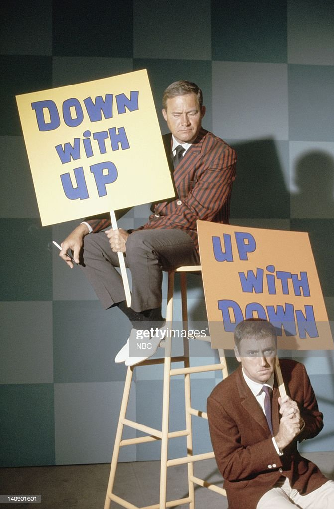 Dan Rowan, Dick Martin -- Photo by: NBCU Photo Bank