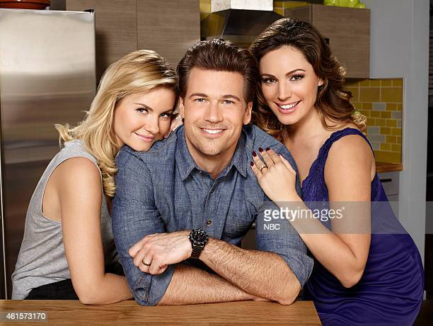 Season: 1 -- Pictured: Elisha Cuthbert as Lizzy, Nick Zano as Luke, Kelly Brook as Prudence --