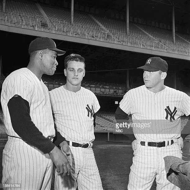 Elston Howard Roger Maris Mickey Mantle