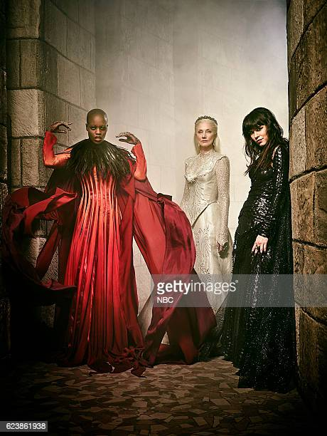 1 Pictured Florence Kasumba as Wicked Witch/East Joely Richardson as Glinda/North Ana Ularu as West