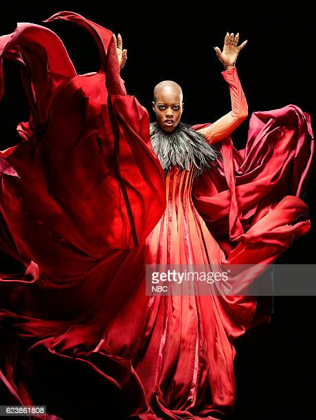 1 Pictured Florence Kasumba as Wicked Witch/East