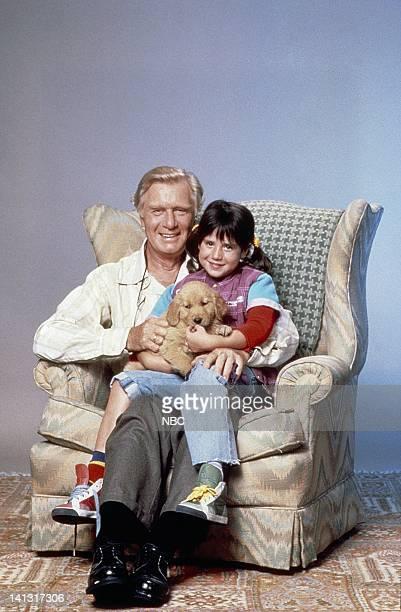 George Gaynes as Henry Warnimont Soleil Moon Frye as Penelope 'Punky' Brewster Brandon the Wonder Dog Photo by NBCU Photo Bank