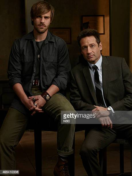 1 Pictured Grey Damon as Shafe David Duchovny as Hodiak