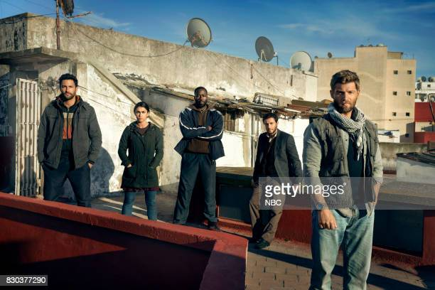 Hadi Tabbal as Agent Amir AlRaisani Natacha Karam as Sergeant Jasmine 'Jaz' Khan Demetrius Grosse as CPO Ezekiel Preach Carter Noah Mills as Sergeant...