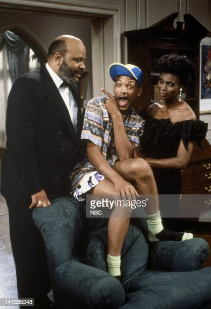 James Avery as Philip Banks Will Smith as William Will Smith Janet Hubert as Vivian Banks Photo by Chris Haston/NBCU Photo Bank