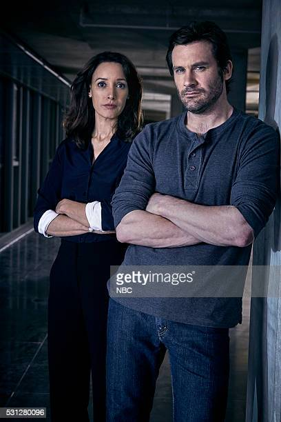 1 Pictured Jennifer Beals as Christina Hart Clive Standen as Bryan Mills