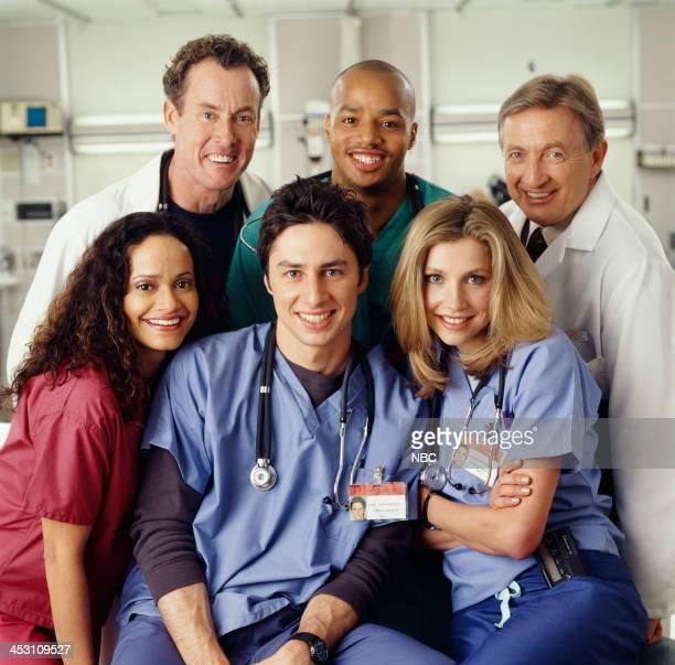 Judy Reyes as Nurse Carla Espinosa Zach Braff as Dr John 'JD' Dorian Sarah Chalke as Dr Elliot Reid John C McGinley as Dr Perry Cox Donald Faison as...
