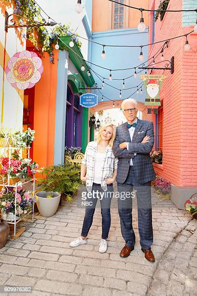 1 Pictured Kristen Bell as Eleanor Ted Danson as Michael