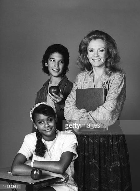 Lark Voorhies as Lisa Turtle Max Battimo as Mikey Gonzalez Hayley Mills as Miss Carrie Bliss Photo by Gary Null/NBCU Photo Bank