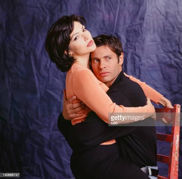 Season 1 -- Pictured: Laura Harring as Paula Stevens, Hank Cheyne as Ricardo Torres -- Photo by: Chris Haston/NBCU Photo Bank