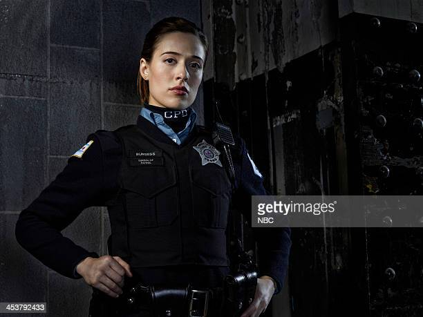 1 Pictured Marina Squerciati as Officer Kim Burgess