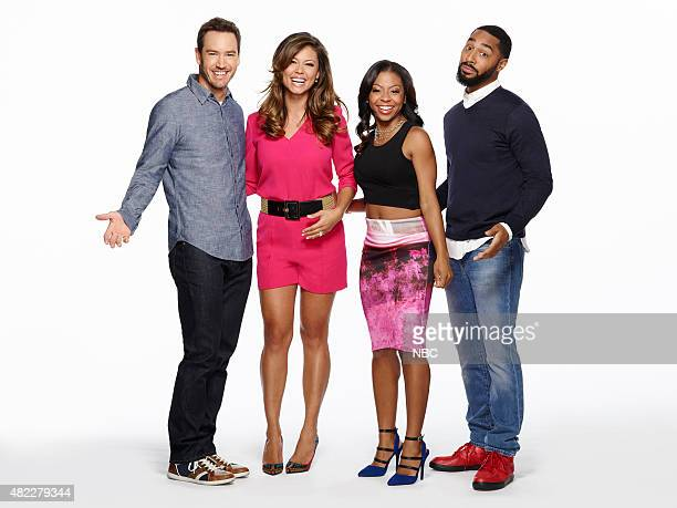 1 Pictured Mark Paul Gosselaar as Mitch Vanessa Lachey as Tracy Bresha Webb as Angie Tone Bell as Russell