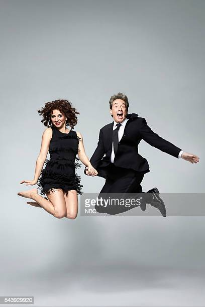 1 Pictured Maya Rudolph Martin Short