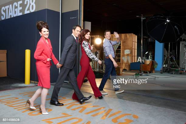 1 Pictured Megan Mullally as Karen Walker Eric McCormack as Will Truman Debra Messing as Grace Adler Sean Hayes as Jack McFarland