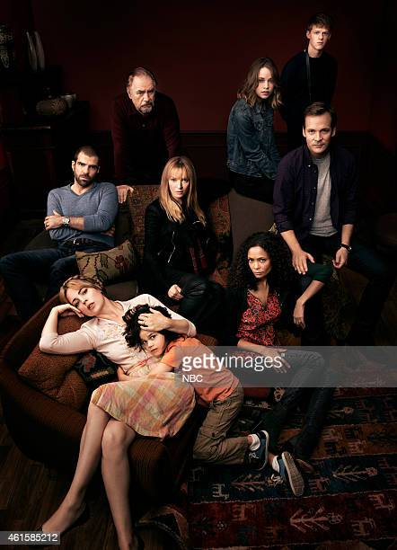 1 Pictured Melissa George as Rosie Zachary Quinto as Harry Brian Cox as Manolis Dylan Schombing as Hugo Thandie Newton as Aisha Makenzie Leigh as...