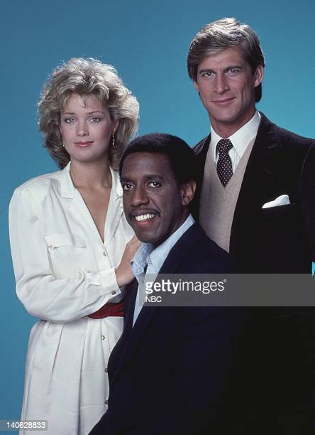 Melody Anderson as Brooke MacKenzie Michael D Roberts as Tyrone C Earl Simon MacCorkindale as Dr Jonathan Chase Photo by Herb Ball/NBCU Photo Bank