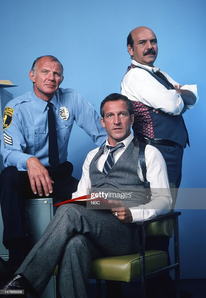 Michael Conrad as Sgt  Phil Esterhaus, Daniel J  Travanti as