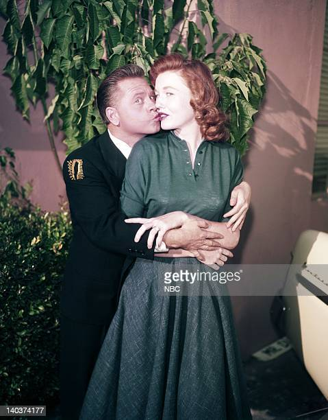 Mickey Rooney as Mickey Mulligan wife/actress Elaine Devry Photo by NBC/NBCU Photo Bank