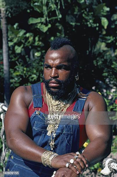 Mr T as Sgt Bosco 'BA' Baracus Photo by Frank Carroll/NBCU Photo Bank