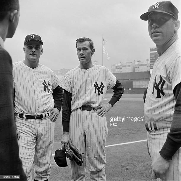 Roger Maris Johnny Carson Mickey Mantle