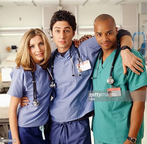 Sarah Chalke as Dr Elliot Reid Zach Braff as Dr John 'JD' Dorian Donald Faison as Dr Christopher Turk