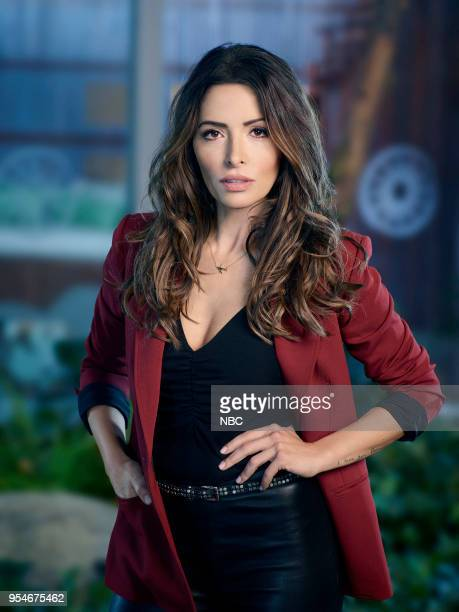 1 Pictured Sarah Shahi as Mara Knit