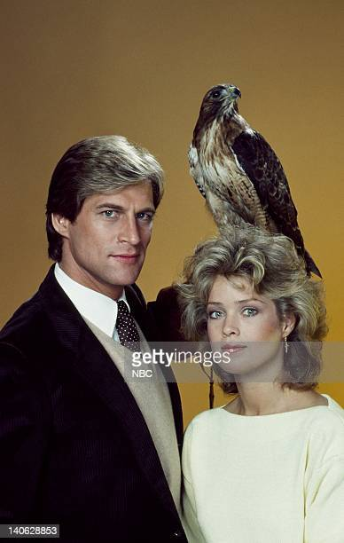 Simon MacCorkindale as Dr Jonathan Chase Melody Anderson as Brooke MacKenzie Photo by Herb Ball/NBCU Photo Bank
