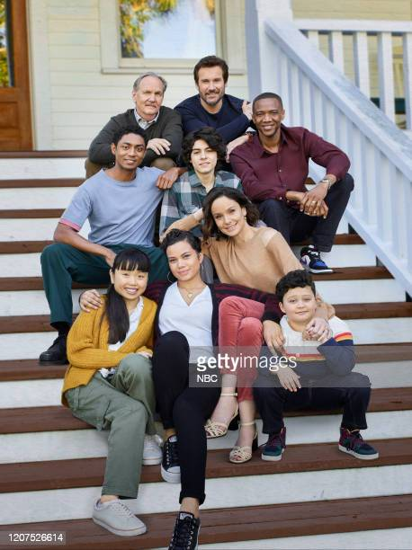 Season: 1 -- Pictured: Steven Silver as Evan Norris, Thalia Tran as Charlotte Perry, Michael O?Neill as Larry Mills, Michele Weaver as Luly Perry,...