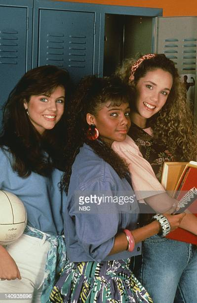 Tiffani Thiessen as Kelly Kapowski Lark Voorhies as Lisa Turtle Elizabeth Berkley as Jessie Spano Photo by Alice S Hall/NBCU Photo Bank