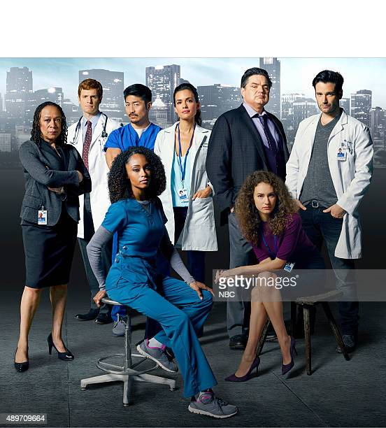1 Pictured top row S Epatha Merkerson as Sharon Goodwin Nick Gehlfuss as Dr Will Halstead Brian Tee as Ethan Torrey DeVitto as Dr Lily Manning Oliver...