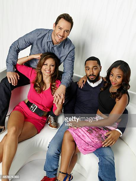 1 Pictured Vanessa Lachey as Tracy Mark Paul Gosselaar as Mitch Tone Bell as Russell Bresha Webb as Angie