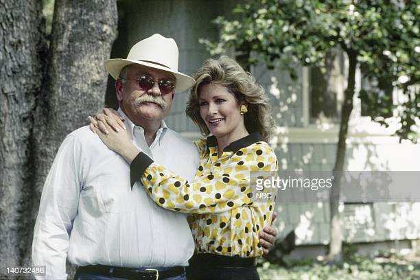 Wilford Brimley as Gus Witherspoon Deidre Hall as Jessica 'Jessie' Witherspoon Photo by NBCU Photo Bank