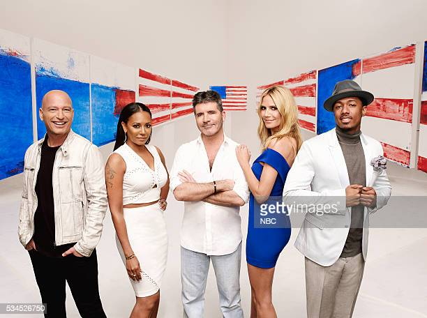 11 Pictured Howie Mandel Mel B Simon Cowell Heidi Klum Nick Cannon