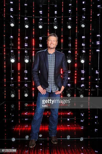 THE VOICE 'Season 11 Press Junket' Pictured Blake Shelton