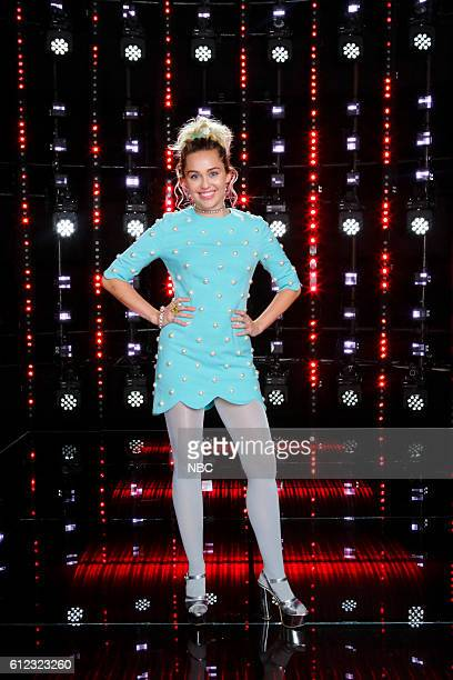 THE VOICE 'Season 11 Press Junket' Pictured Miley Cyrus