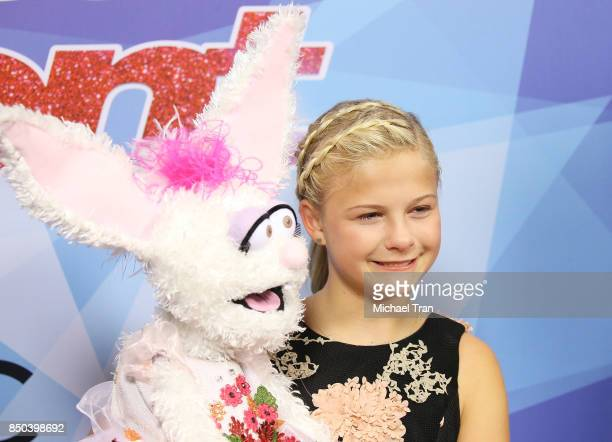 Season 12 winner Darci Lynne Farmer attends NBC's 'America's Got Talent' Season 12 Finale held at Dolby Theatre on September 20 2017 in Hollywood...